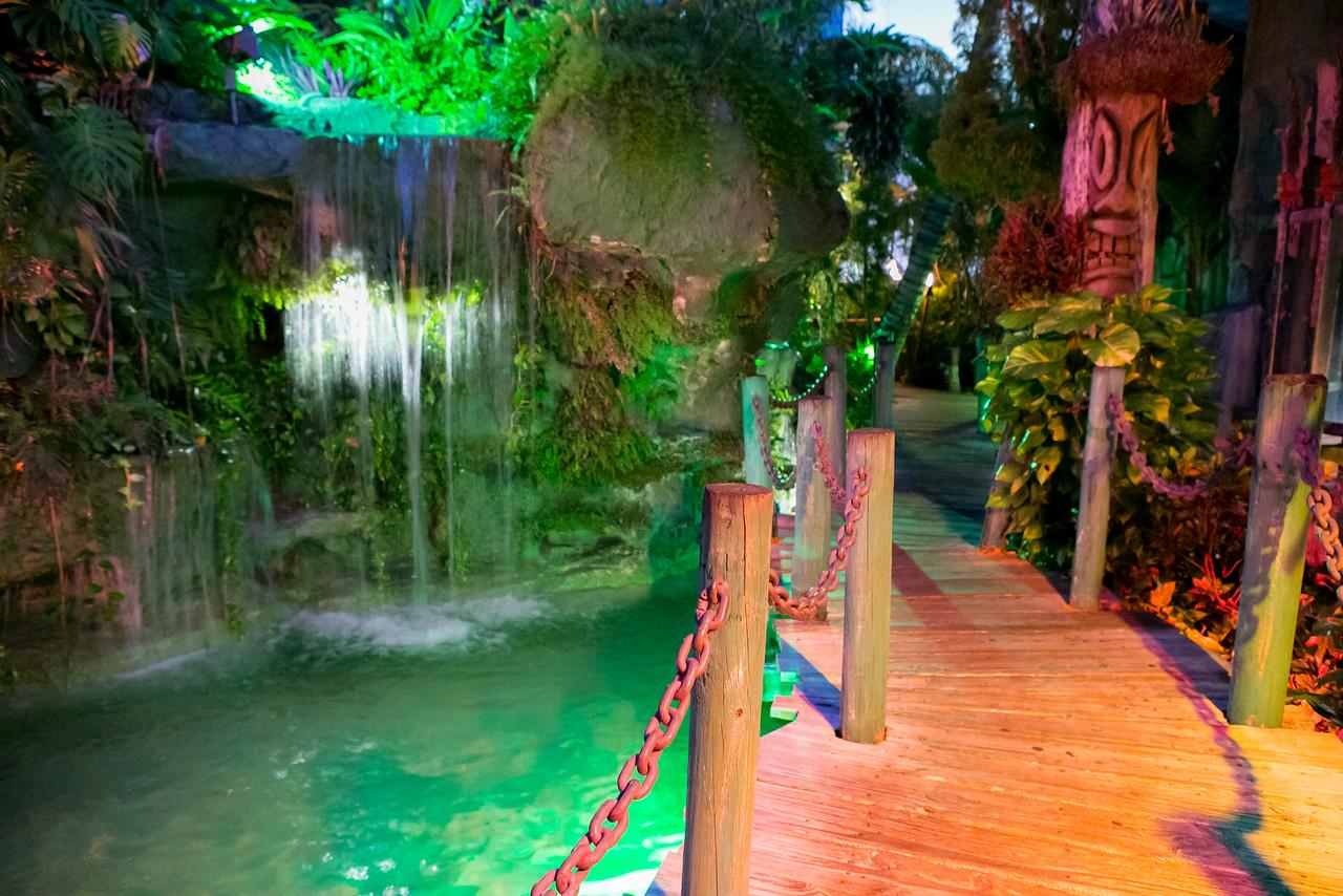 Mai-Kai Garden Waterfall