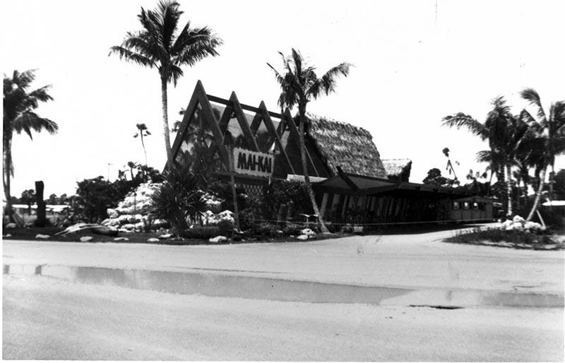 The Mai-Kai exterior in 1948.
