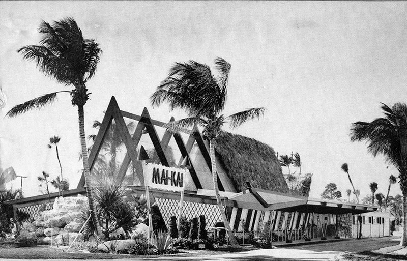 The old exterior of The Mai-Kai.